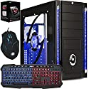 Freshtech AMD 4.1Ghz 8gb Ram 1tb HDD FTS Gaming PC Desktop Computer Galaxy 3 HDMI Gigabyte F2A68HM-HD2 Motherboard 8GB DDR3 1600mhz Performance Ram Onboard AMD Radeon HD 8470D EVGA 500w 80 Plus Certified 40a Single Rail Power Supply 1tb Western Digital WD10EZEX 64mb Cache 7200rpm