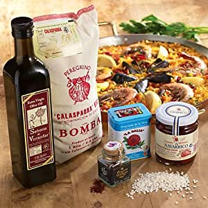 Amazon.com : La Tienda Essential Paella Ingredients Combo (Includes