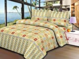 Aarco Polycotton Floral Double Bedsheet