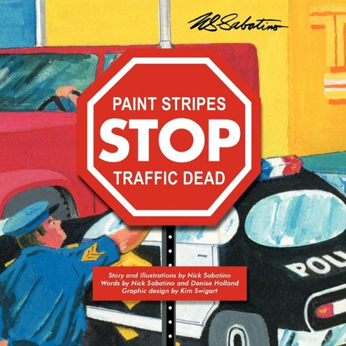 Paint Stripes Stop Traffic Dead