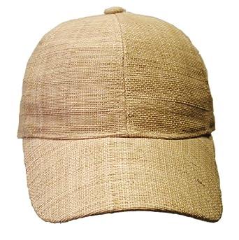 Jenny Cake Raffia Straw Baseball Cap at Amazon Men's Clothing store: