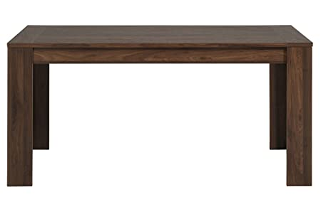 Table en noyer D : 160 x 78.6 x 88 cm -PEGANE-