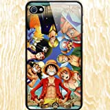 Japanese Anime One Piece Design Skin Hard Back Case Decal PVC Cover for Apple Iphone4 / 4s