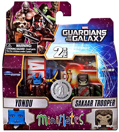 Guardians of The Galaxy Minimates Series 57 Exclusive Mini Figure 2-Pack Yondu & Sakaar Trooper