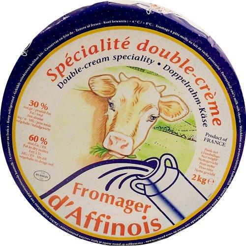 Pave D'Affinois Triple Crème Cheese - 2 Kg