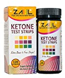 ZAEL-Ketone-Test-Strips-120-Strips-Free-Low-Cab-One-Week-Meal-Plan-8x11-Ketone-Urine-Test-Perfect-for-Ketosis-Diabetics-Paleo-Atkins-Diet-Professional-Lab-Grade-Test-Pads