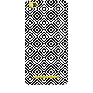 Skin4gadgets BLACK & WHITE PATTERN 25 Phone Skin for MI4I