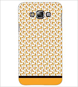 PrintDhaba Kitty pattern D-1779 Back Case Cover for SAMSUNG GALAXY A7 (Multi-Coloured)