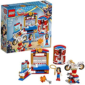 LEGO - 41235 - Dc Super Hero Girls - Jeu de Construction - La Chambre de     Wonder Woman
