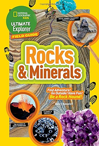 Ultimate Explorer Field Guide: Rocks and Minerals (National Geographic Kids) (Rock For Kids compare prices)