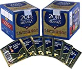 Sports Memorabilia 2018 Panini World Cup Soccer Stickers Bundle with (2) Factory Sealed 50 Pack Boxes - Fanatics Authentic Certified