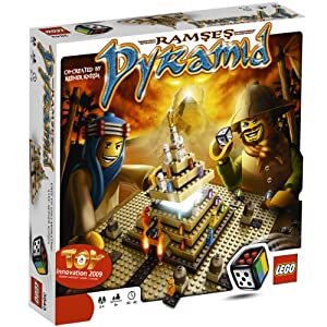 LEGO Ramses Pyramid: A Great Concept as Players Work as a Team and then Compete