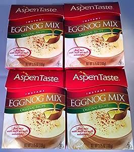 Amazon.com : The Aspen Taste Original Recipe Instant Eggnog Mix, 3.75 ...