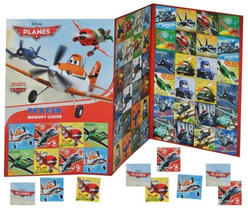 Memory - Disney Planes Dusty Flugzeuge - zum Ausschneiden Flugzeug - für Jungen Bastelset Memo Spiel Gedächtnisspiele Kinder / Kartenspiel Karten