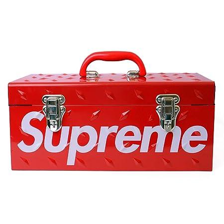 SUPREME シュプリーム 18AW Diamond Plate Tool Box ツールボックス 赤 フリー 並行輸入品