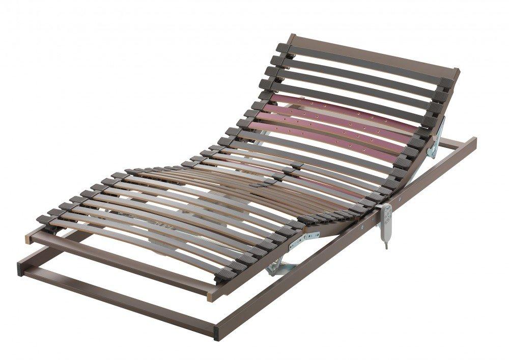 elektrischer Lattenrost AVIONO EL, 8 cm hoch, 28 Buche-Federleisten, Schulterkomfortzone und einstellbarer Beckenbereich, Größe:140×200 jetzt kaufen
