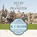 Death of a Prankster: The Hamish Macbeth Mysters, Book 7 Audiobook by M. C. Beaton Narrated by Shaun Grindell