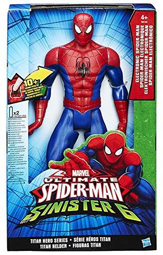 Spiderman - Personaggio Elettronico, Modelli Assortiti