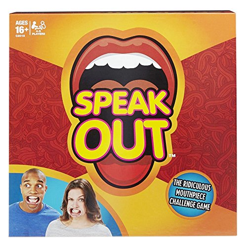 Speak Out Game, Mouth Guard Party Game & Halloween Theme Card Party Game