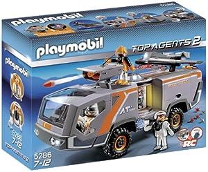 Playmobil Agentes Secretos 2 - Camión espía (5286)