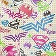 (16) Justice League Girls Large Napkins