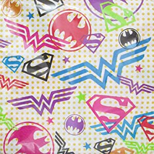 (16) Justice League Girls Large Napkins