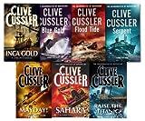 Clive Cussler Clive Cussler Dirk Pitt Series Collection 7 Books Set Mayday, Inca gold, Sahara