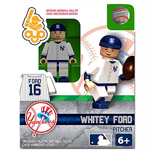 Whitey Ford MLB New York Yankees G2S2 Hall of Fame Mini Figure OYO - 1