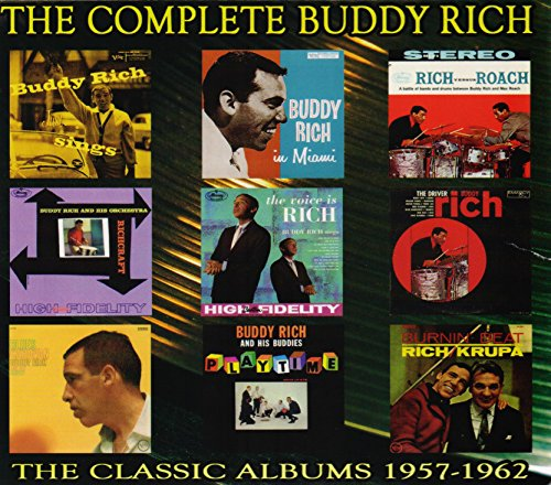 CD : Buddy Rich - Complete Buddy Rich: 1957-1962 (5 Disc)