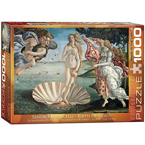 Eurographics Birth of Venus by Botticelli 1000-Piece Puzzle