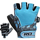 Authentic RDX Ladies Gel Gloves Fitness Gym Wear Weight Lifting Workout Training Cycling B