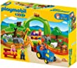 Playmobil - 6754 - Jeu de construction - Coffret Grand zoo 1.2.3