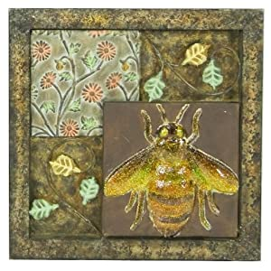 Pinnacle Strategies B80776/4 Insect Metal Wall Plaque