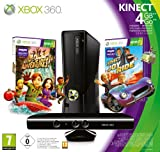 Console Xbox 360 4Go + Capteur Kinect + Kinect Adventures + Kinect Joy ride