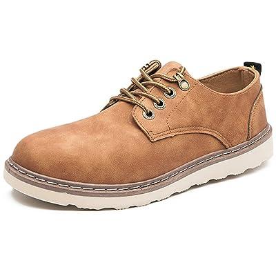 【2018新モデル】ワークシューズ カジュアルシューズ デッキシューズ メンズ 靴 レースアップ 24.5cm~27cm