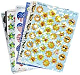 Trend Enterprises Sparkle Stickers Holiday Celebrations Themed Jumbo Pack - 1 1/4 in - Pack of 648