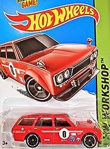 Amazon.com: 2015 Hot Wheels '71 Datsun Bluebird 510 Wagon: Toys