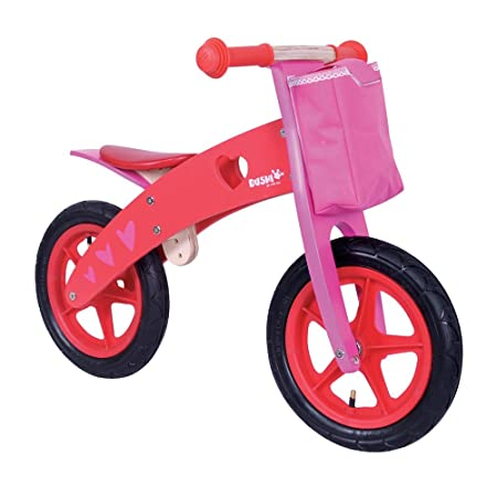 PROMOTION - Porteur bois 2 roues vélo Fille