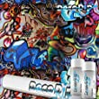 Hydrographics Film Kit - Hydro Dipping - Deco Dip Kit - Graffiti - LL-505 - Water Transfer Printing