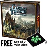 A Game of Thrones Board Game, 2nd Edition with Free Set of 7 Wiz Dice