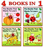 children book collection - the beetle that wants to learn (4 books - 114 pages)