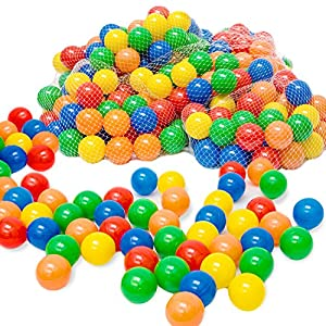 piscina de pelotas 450 bolas plastico juguetes