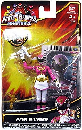 Power Rangers Megaforce Action Figure Pink Ranger, 4 Inch - 1