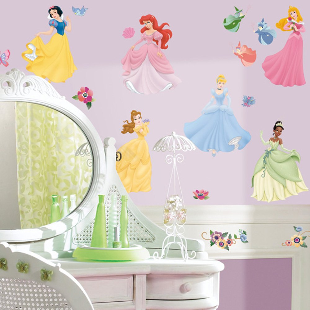 Disney Princess Bedroom Wall Decals Gift for Girls