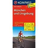 München und Umgebung: Fahrradkarte. GPS-genau. 1:70000