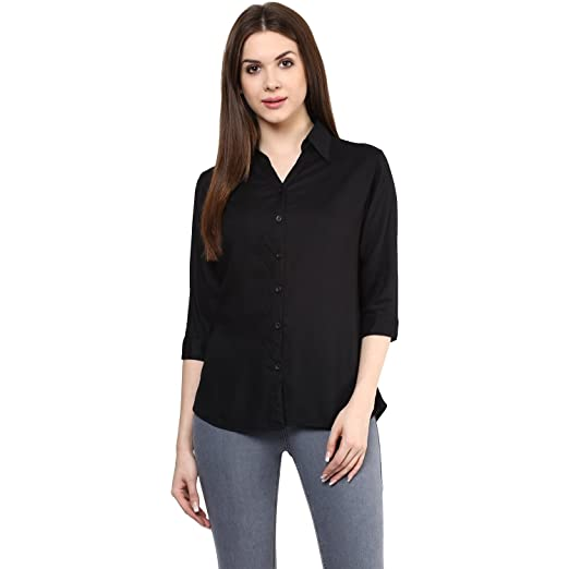Mayra Women's Rayon Shirt at amazon