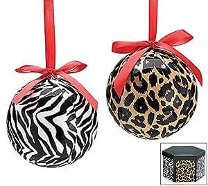 Amazon.com: Leopard & Zebra Jungle Theme Christmas Tree 3 ...
