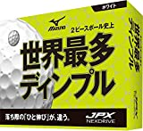 MIZUNO(ミズノ) ゴルフボール JPX ネクスドライブ ユニセックス 5NJBM72510 ホワイト 1ダース