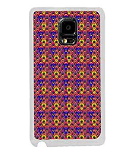 Colourful Pattern 2D Hard Polycarbonate Designer Back Case Cover for Samsung Galaxy Note 4 :: Samsung Galaxy Note 4 N910G :: Samsung Galaxy Note 4 N910F N910K/N910L/N910S N910C N910FD N910FQ N910H N910G N910U N910W8