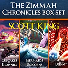 The Zimmah Chronicles Box Set | Livre audio Auteur(s) : Scott King Narrateur(s) : Eric Michael Summerer